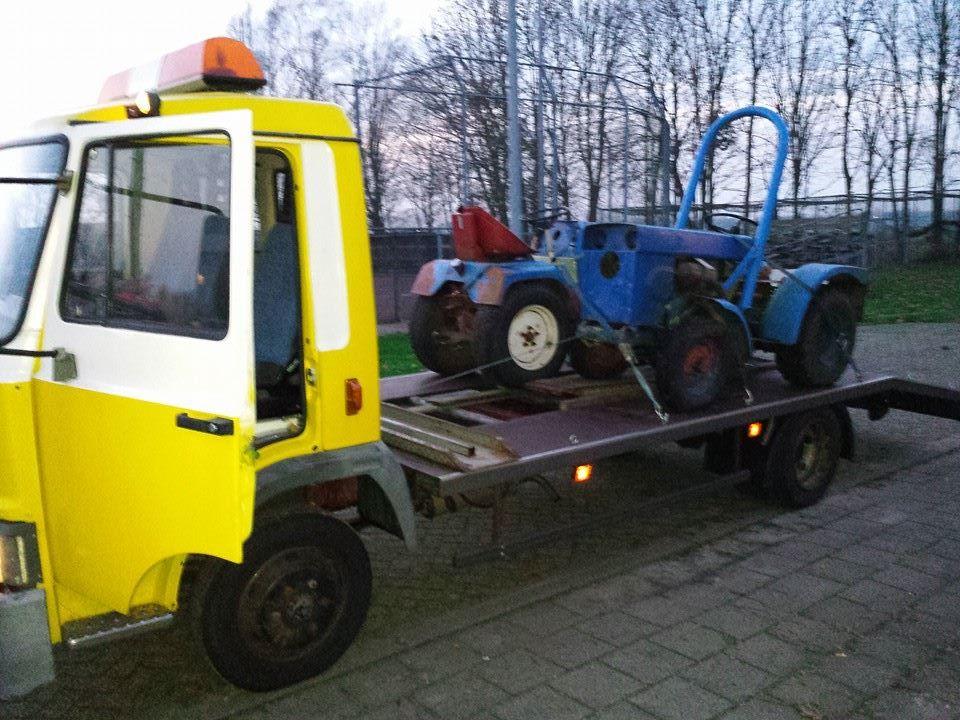 tractor vervoer